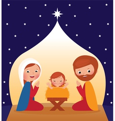 Nativity scene vector image