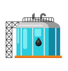 oil storage vector image