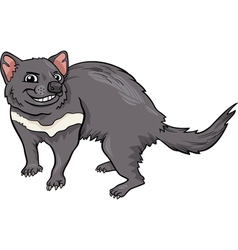 tasmanian devil cartoon vector image