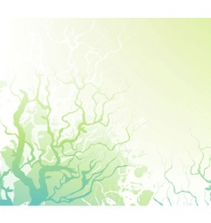 Trees back vector
