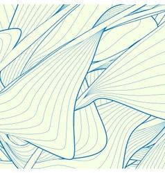 Modern striped background vector image