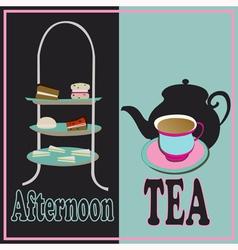 Afternoon Tea vector image