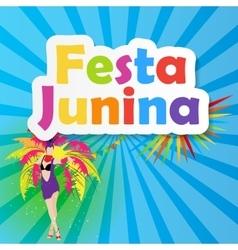 Festa junina background vector