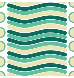 seamless texture of line and circle pattern vector image vector image