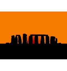 Stonehenge vector image vector image