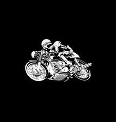 biker 26 vector image