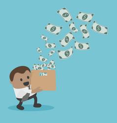 Business concept cartoon businessman for vector