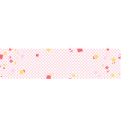 Cheerful and cute japanese anime background vector