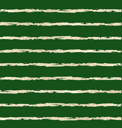 gold foil horizontal lines pattern green vector image