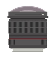 Photo optic lenses vector image