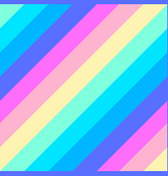 rainbow diagonal geometric striped seamless vector image