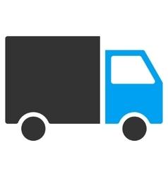 Shipment Van Flat Icon vector image