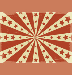 vintage circus posters paper vector image