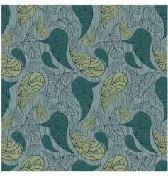 vector seamless paisley background vector image vector image