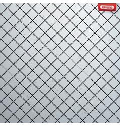 Seamless cross hatch pattern vector image