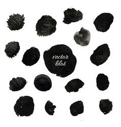Big Black Blob Collection vector image