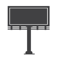 billboard presentation icon vector image
