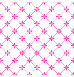 flower cute pattern vector image