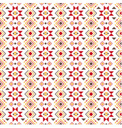 geometric colored pattern vector image