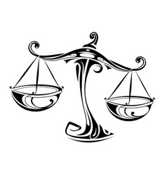 Libra Tattoo Vector Images Over 330
