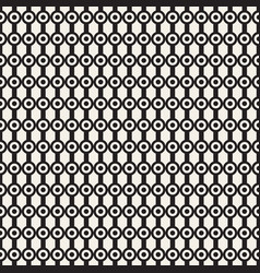 Seamless pattern graphic linear streaks with dots vector
