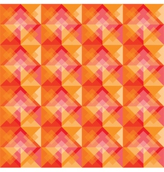 Warm square background pattern vector