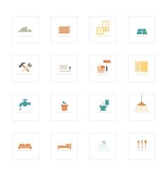 Icon HomeInovate vector image