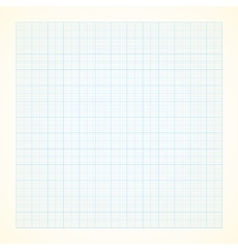 Graph grid paper background vector image