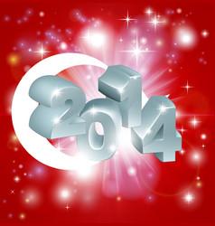 2014 turkey flag vector image