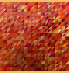Abstract geometric triangle background vector