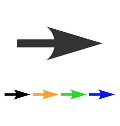 Arrow axis x icon vector