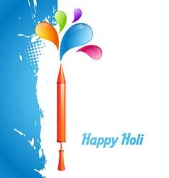Indian festival holi vector