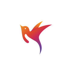 logo bird care perfect for charity pet shop or vector image