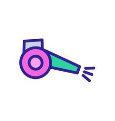 Sprayer blower icon outline vector