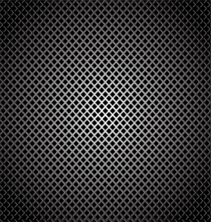 diamond silver grill background vector image