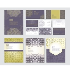 Banners set of templates vector
