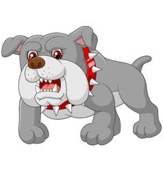 Cartoon guard dog house vector