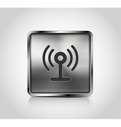 icon wireless connection vector image