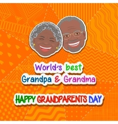 International grandparents day vector