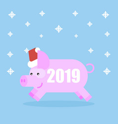 pig new year symbol vector image