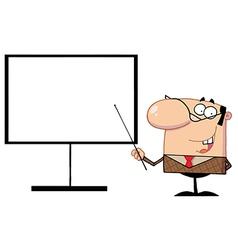 Presentation cartoon vector