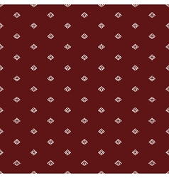 Red ethnicrussian regular seamless pattern vector