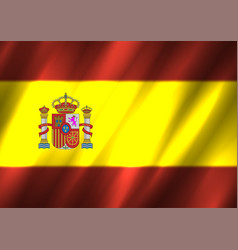 Spain flag background vector