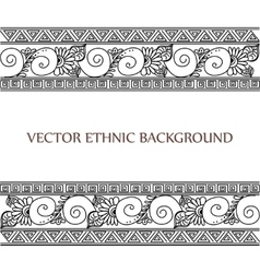 tattoo henna background vector image