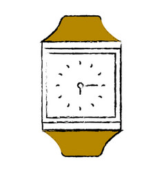 Time clock accessory vector