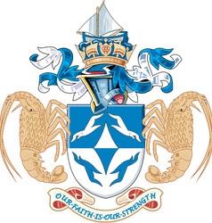 Tristan da Cunha vector image