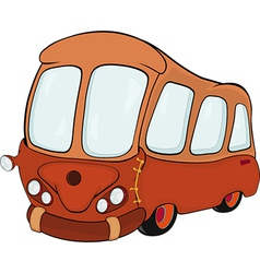 The bus vector image vector image