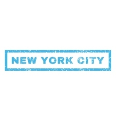 New York City Rubber Stamp vector image vector image