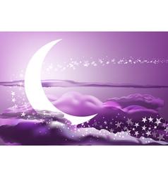 romantic heaven vector image vector image