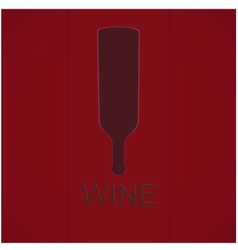 Wine list design vector image vector image